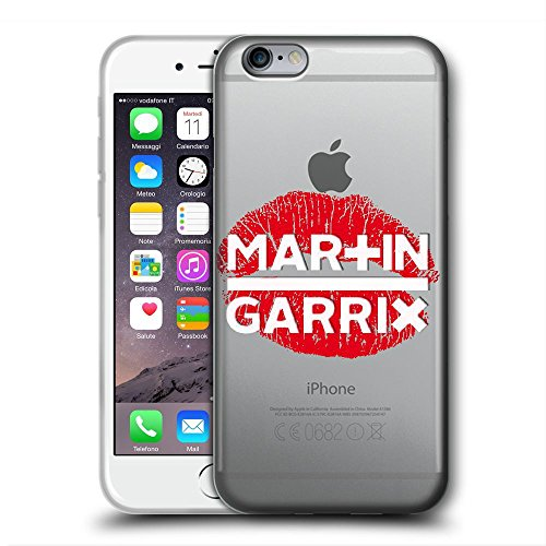 IPCPCCASE Cover iPhone 5/5S/SE Clear Case Cover TPU Rubber Gel Transparent Back Silicone Design DJ Martin G