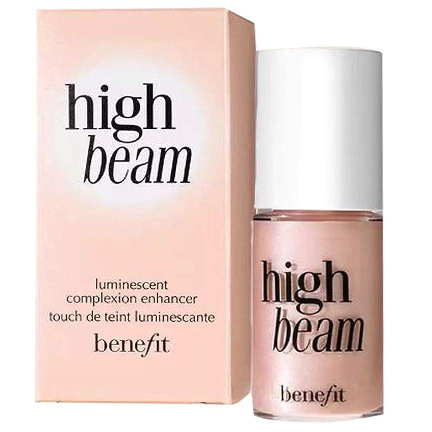 同情動機付ける飾るBenefit Cosmetics High Beam Liquid Face Pink Highlighter, Mini Travel Size 0.13 fl oz / 4 mL [並行輸入品]