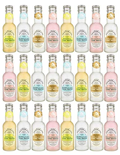 Fentimans Mixed Case of 24 Tonic Water (24 x 125ml)