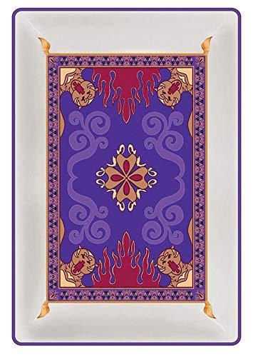 Aladdin - Bandeja de cerámica con diseño de alfombra mágica