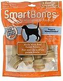 SmartBones Dog Treats (Bones), Sweet Potato Flavour, Rawhide Free, 6 Medium Bones