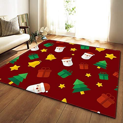 HSRG Rug Cadeaux de Noël Accessoire Anti-dérapante Tapis Plancher Tapis Salon Enfants Chambre Moquette,#2,72×48in