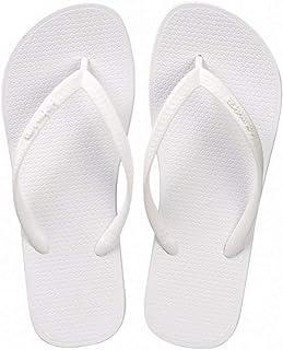 25b0b4127a2a MEIZOKEN Women Summer Beach Sandals Slim Flip Flops White Rubber Slippers  Shoes Slides House Pool Slippers