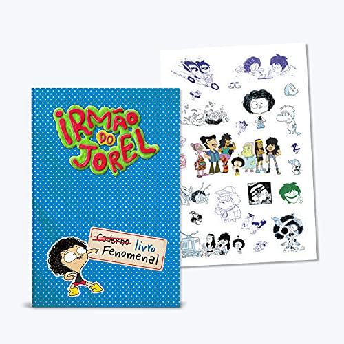 Irmão Do Jorel: Livro Fenomenal + Cartela De Adesivos