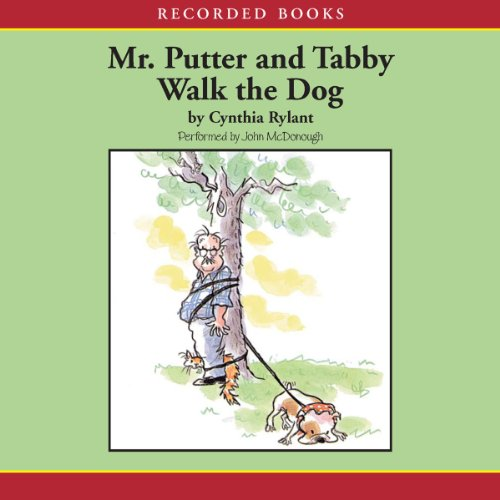 Mr. Putter and Tabby Walk the Dog audiobook cover art