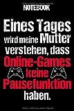 Notebook: Gamer Notizbuch Blanko A5 Lustiges Geschenk Für Nerd Und Nerd / Organizer Mit 120 Seiten...
