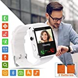 Smartwatch Orologio Fitness Uomo Donna Bambini Smart Watch con SIM Card Slot Touch Screen Camera...