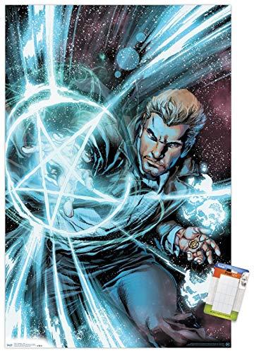 Trends International DC Comics - John Constantine - Spell Wall Poster, 22.375' x 34', Premium Poster & Mount Bundle