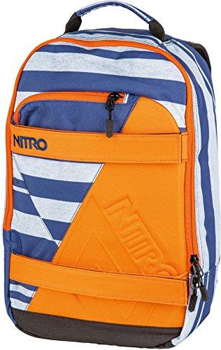Nitro Snowboards 2018 Sac à Dos Loisir, 46 cm, 27 liters, Multicolore (Heather Stripe)