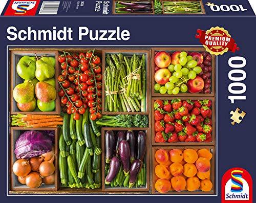 Schmidt Spiele Puzzle 58308 - Frisch vom Markt, 1.000 Teile Puzzle