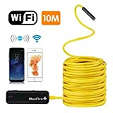 BlueFire Semi-Rigid Flexible Wireless Endoscope IP67 Waterproof WiFi Borescope 2 MP HD Resolutions