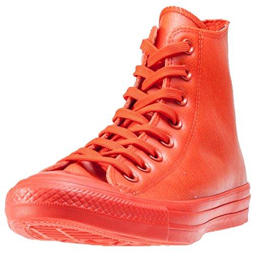 Converse Chuck Taylor All Star Sneaker Hi 'Rubber' Signal rot, Größe:37.5