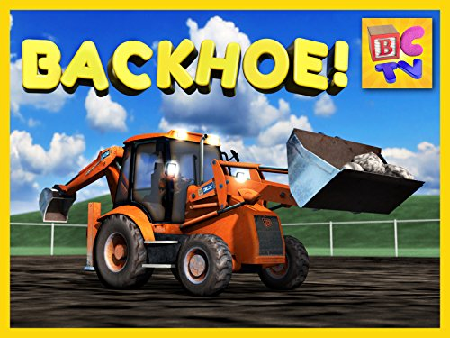 Learn About Backhoes  Construction Vehicles for Children
