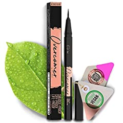 ULTRA FINE MICRO-TIP LIQUID EYELINER: Super easy glide black eyeliner, with high precision felt tip for thin or thick lines. This eyeliner will help you overcome every situation throught the day. GAME-CHANGER: The black eyeliner tip allows you to eas...