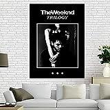 IFUNEW Leinwand Poster Bilder Leinwand Poster The Weeknd