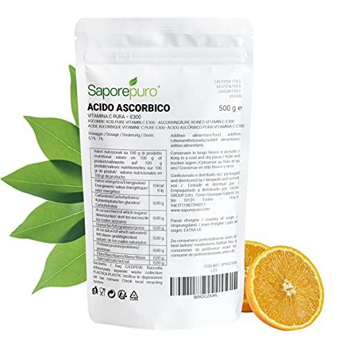 Acido ascorbico puro - Vitamina C - 500 g