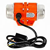 50W Concrete Vibrator Vibration Motor 110V 3600 RPM Single Phase Asynchronous Vibrator for Shaker Table (Single phase 50W 110V)