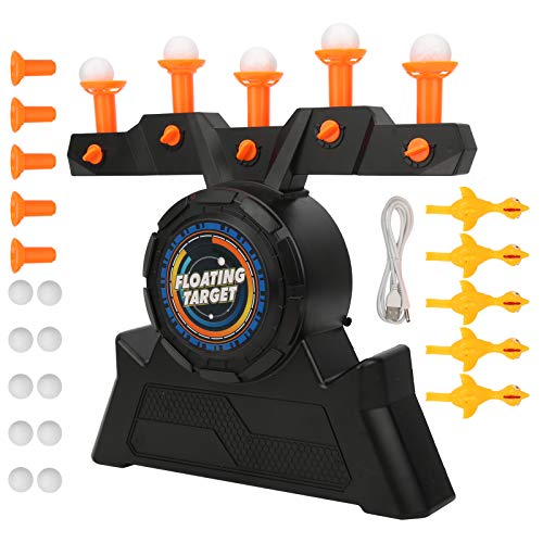 Keenso Electric Shooting Targets, Floating Suspended Ball Shooting Dart Target Games Adjustable Wind Power