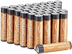 Include one 36-pack of AAA 1.5-volt performance alkaline batteries; ideal for a variety of devices, including game controllers, toys, flashlights, digital cameras, and clocks 10-year leak-free shelf life; air- and liquid-tight seal locks in the power...