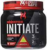 Cytosport Monster Initiate Nutritional Drink, Pre Workout Powder, Sour Apple Flavored, 600 Gram (30 Servings)