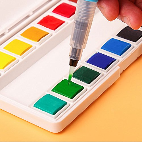 Easter,Refillable Pilot Water Brush Ink Pen for Painting Watercolor Drawing Pen Pencil Watercolor Fountain Pen,Fountain Pen