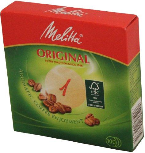 Melitta - Original Rundfilter 1 - 100St