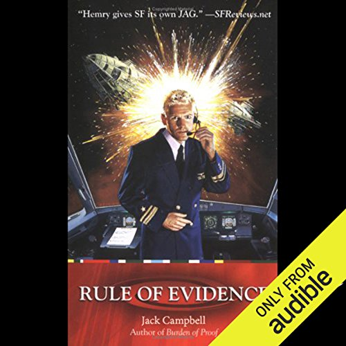 Rule of Evidence audiobook cover art