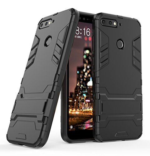 Honor 7A / Huawei Y6 2018 Handy Tasche, FoneExpert® Hülle Abdeckung Cover Slim schutzhülle Tough Strong Rugged Shock Proof Heavy Duty Hülle Für Honor 7A / Huawei Y6 2018 / Y6 Prime 2018