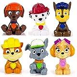 PAW PATROL Lot de Figurines 6 Petits personagges Set di 6 Multicolore