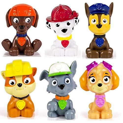 PAW PATROL - Paquete de Juguetes 6 Mini Personajes Set di 6 Multicolor