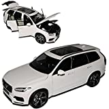 Welly Volvo XC90 SUV Weiss R-Design 2. Generation Ab 2015 1/18 GTA Modell Auto