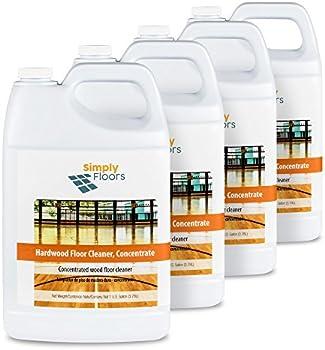 4-Pack Simply Floors Hardwood Floor Cleaner
