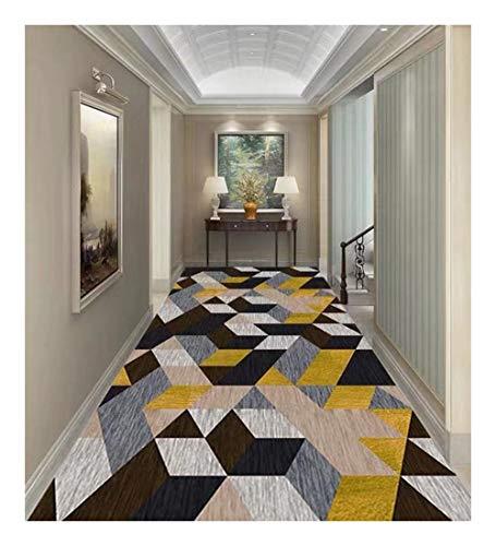 DITAN Runner Carpet Living Room Entrance Non-Slip Corridor Can Be Cut (Color : A, Size : 80x250cm)