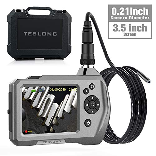 Teslong Upgraded Video Borescope Handheld Industrial Endoscope