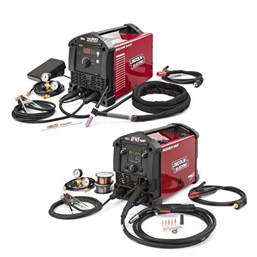 Lincoln Electric Power MIG 210 MP et Square Wave TIG 200 Garage Pak