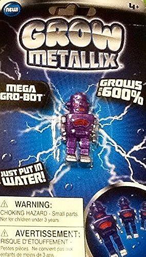 Grow Metallix Mega Gro-Bot  lila  600% Grüng Robot  Gag Toy  Water Expandable Toy by Grow Metallix