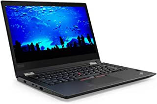 Lenovo ThinkPad X380 YOGA 2-in- 1 Laptop - Intel Core i5-8250U, 13.3-Inch Touch, 256GB SSD, 8GB, Eng-KB, Windows 10 Pro, Black