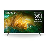 Sony X800H 75-inch TV: 4K Ultra HD Smart LED TV with HDR and Alexa Compatibility - 2020 Model