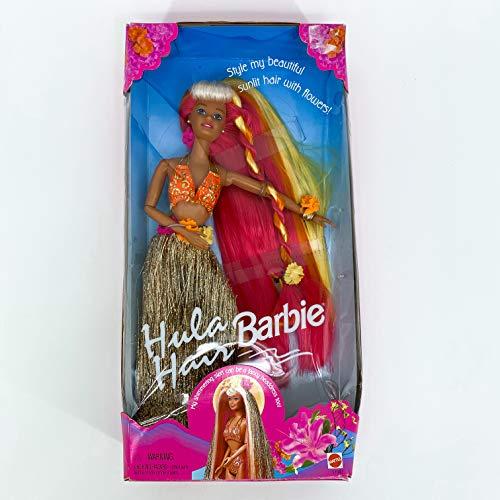 Barbie Pink & Gold Hula Hair