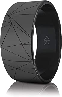 YOGA DESIGN LAB | The Yoga Wheel | Eco Printed, Extra Strength, Padded, Dharma Exercise Wheel | Designed in Bali | Enhance Your Postures and Stretch Deeper