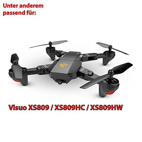 HSP Himoto Akku 900mAh 3.7V für RC Quadcopter, Drohne, Ersatzakku Visuo xs809, xs809hc, xs809hw