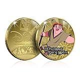 FANTASY CLUB Disney El Jorobado de Notre Dame Colección Clásicos 02, Moneda / Medalla Conmemorativa acuñada con baño en Oro 24 Quilates y Coloreada a 4 Colores - 44mm