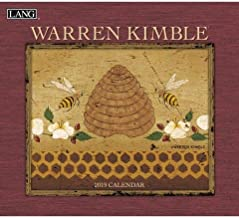 2019 The LANG Warren Kimble Wall Calendar