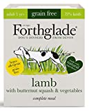 Forthglade Complete Natural Wet Dog Food - Grain Free Lamb (18 x 395g) Trays