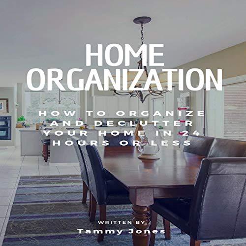 Home Organization audiobook cover art