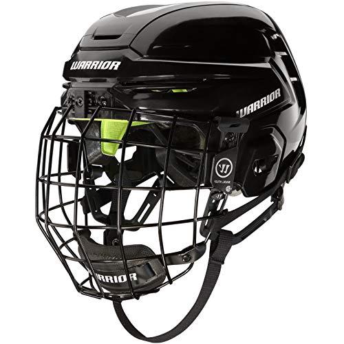 WARRIOR Hockey Alpha One Youth Hockey Helmet Combo Black OSFM