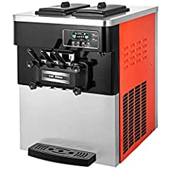 🍻【2 +1 FLAVORS】-2*6L large capacity 2+1 flavors: our ice cream maker allows you to precise control what goes into your dessert. During the mixing, add your favorite food, whether it's meringue, berries chocolate chips, or fragments of nuts. Ice cream...