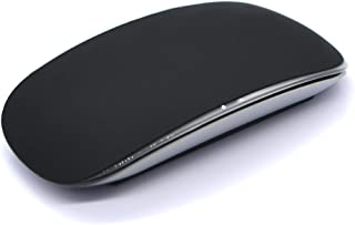 HRH Candy Black Silicone Soft Mouse Cover Skin Protector Guard for Apple MAC Magic Mouse