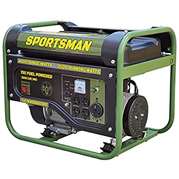 Buffalo Tools GEN4000TRI 4000 Watt Tri Fuel Generator