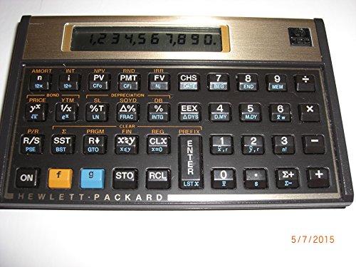 HP12CFinancialCalculator45;Black47;Gold